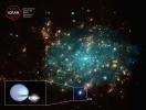 Астрономы обнаружили рекордно прожорливую черную дыру: Фоторепортаж