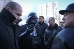 Дарт Вейдер не смог проголосовать на выборах в Раду: Фоторепортаж