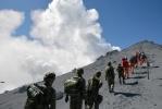 Фоторепортаж: «Извержение вулкана в Японии унесло жизни 46 человек»