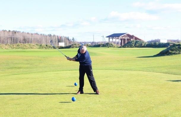 Петербург встретил «Осень гольфа»