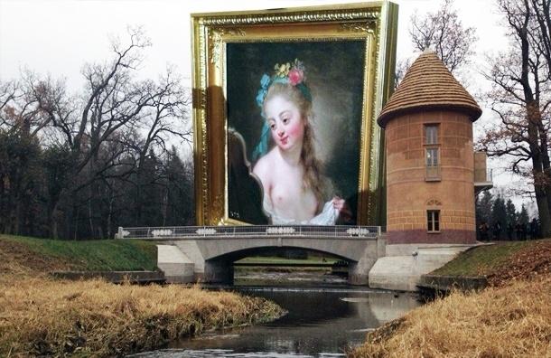 В Павловский парк вернули картину и отреставрировали Пиль-башню