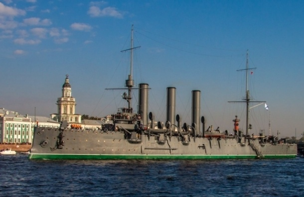 Крейсер Аврора может вернуться уже летом 2015 года