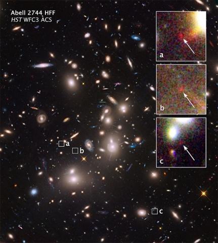 Телескоп «Хаббл» увидел свет галактик, погибших миллиарды лет назад: Фото
