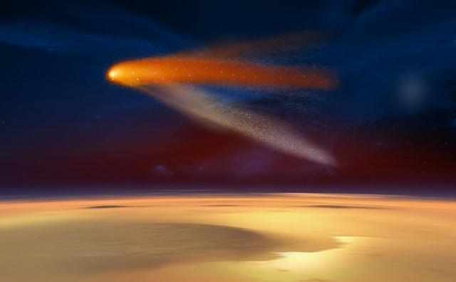 Комета C/2013 A1 Siding Spring: Фото