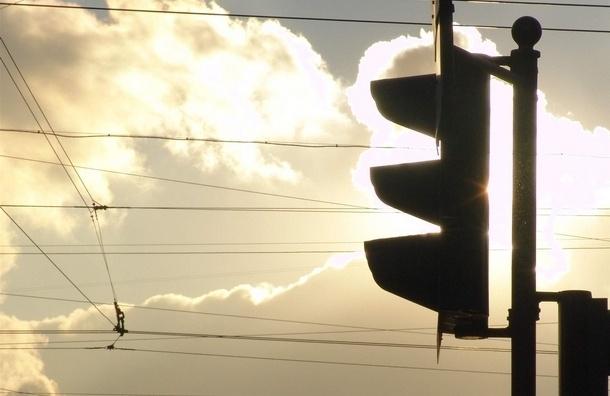 На набережной Обводного канала не работают светофоры