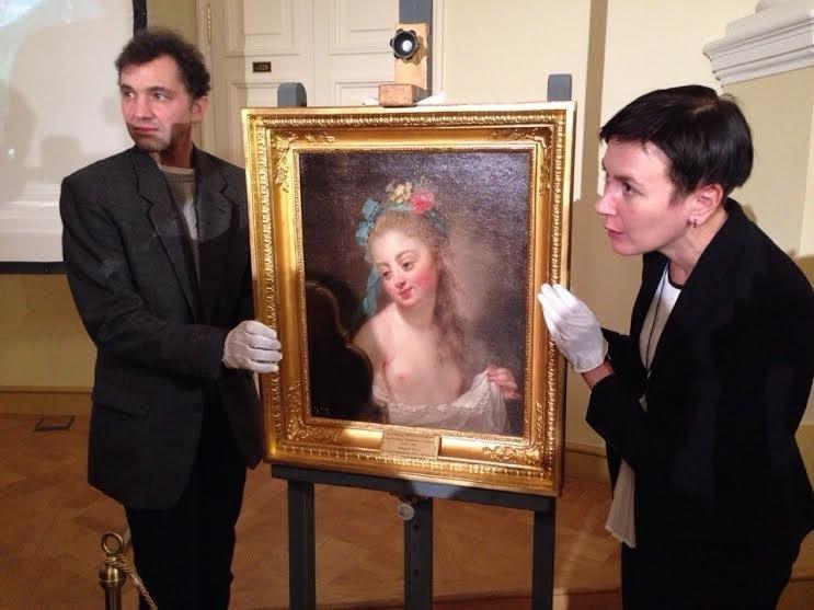 Картина Анны-Доротеи Тербуш-Лисиевской «Молодая девушка перед зеркалом»