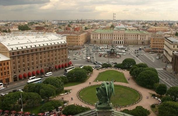 Охраной центра Петербурга займется Координационный совет