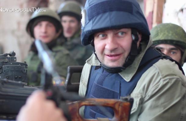 Пореченков в донецком аэропорту стрелял из пулемета в каске «Пресса»