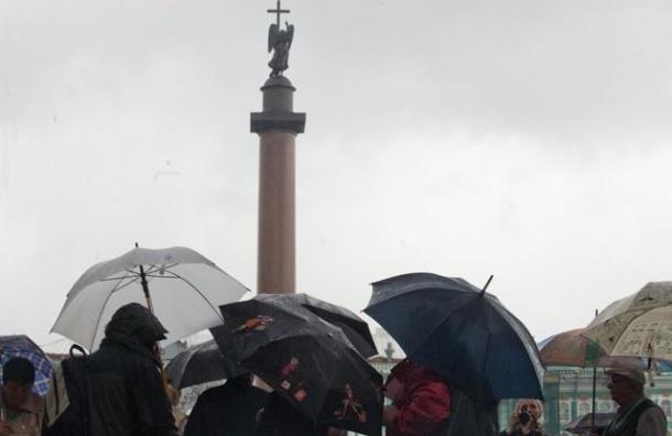 В Петербурге и Ленобласти ожидаются проливные дожди