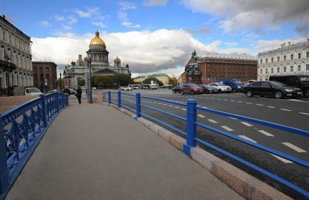 Капитальный ремонт Синего моста завершен досрочно