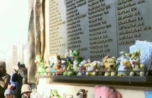 В Москве в небо выпустили 130 белых шаров в память о жертвах «Норд-Оста»