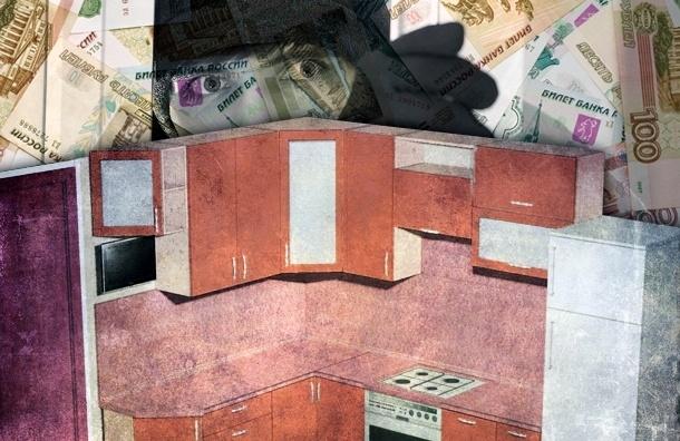 «Империя кухонь» оставила петербуржцев без мебели и денег