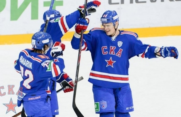 СКА обыграл ЦСКА и возглавил турнирную таблицу