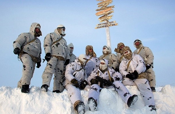 В 2014 году Россия разместит войска в Арктике