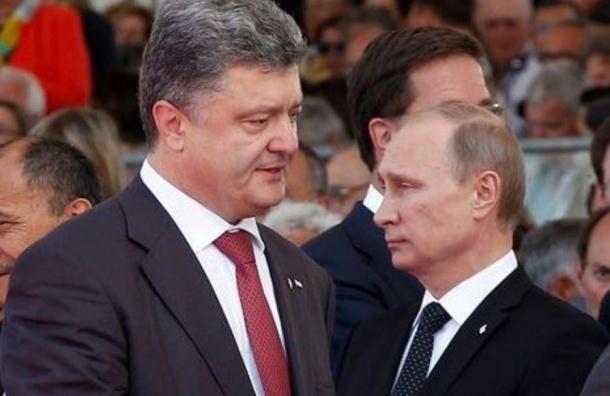 Путин назвал встречу с Порошенко в Милане позитивной