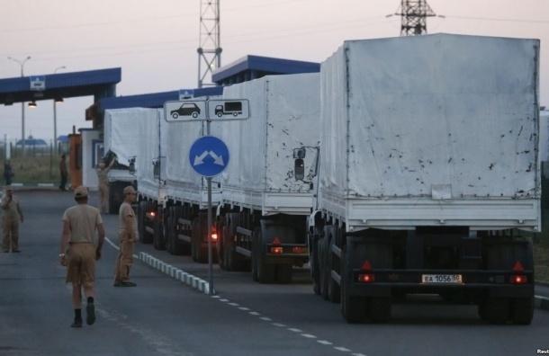 Москва отправит четвертый гуманитарный конвой на Донбасс