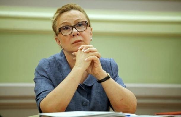 Людмила Косткина делегирована в Совет Федерации от Петербурга