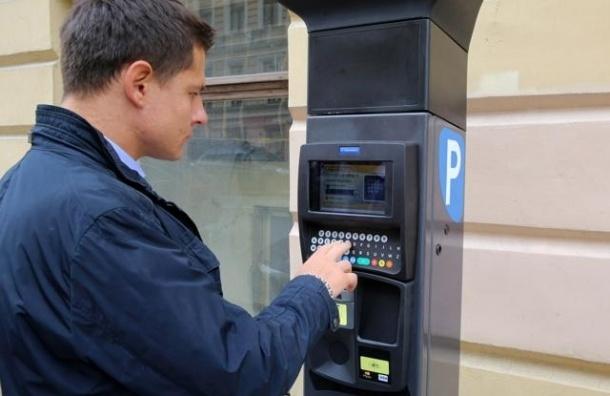 Смольный потратит 10 млн на разработку схемы паркоматов на 29 улицах