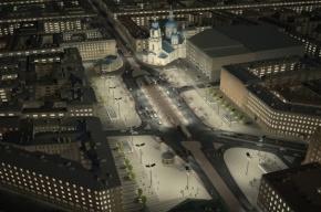 Компания «БалтСтрой» реконструирует Сенную площадь в Петербурге