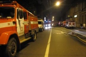 На Большой Пушкарской тушили пожар повышенной сложности