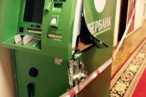 В Госдуме неизвестные ночью ограбили банкомат «Сбербанка»