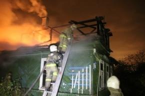 В Красногвардейском районе пьяный мужчина сгорел в своем доме