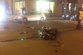 В Петербурге после столкновения с Ford Focus погиб мотоциклист