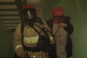 На Васильевском острове при пожаре в коммуналке эвакуировали 15 человек