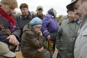 Купчино протестует против перехода-«креветки»