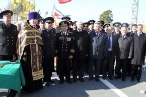Петербургский корабль «Аметист» отправят охранять границу в Крым