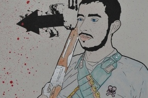 На Лиговском мужчина с двустволкой угрожал продавцам убийством