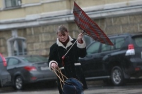В Петербурге ждут шторм