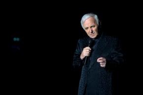 90-летний Шарль Азнавур госпитализирован в Швейцарии