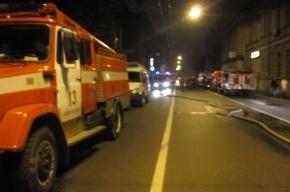 Из горящей коммуналки на Жуковского спасли пять человек