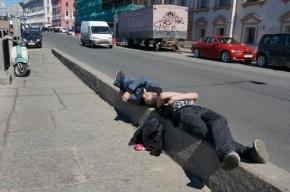 В Петербурге полиция обнаружила труп после пьяной драки бездомных