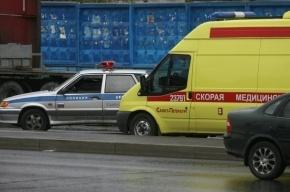 В Купчино Mercedes сбил пешехода