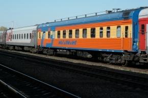 Поезд Москва-Петербург опоздал на 1,5 часа из-за поломки локомотива