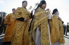 Для участников крестного хода в Петербурге поставят бесплатные туалеты