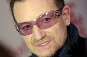 Лидер U2 Боно признался, что всегда носит темные очки из-за глаукомы