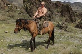 Путин на день рождения взял выходной и уехал в тайгу