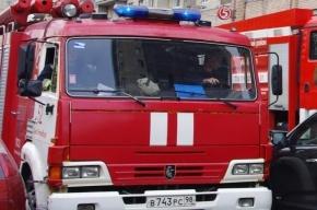 В Московском районе при пожаре спасли 15 человек