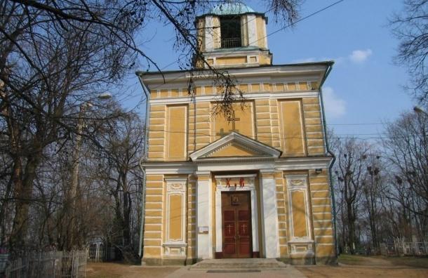 В Павловске из храма похитили кресты