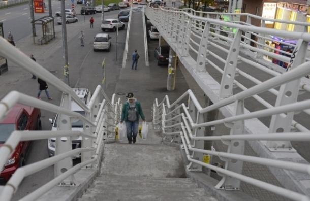 Жители проспекта Косыгина не хотят строительства перехода-«креветки»
