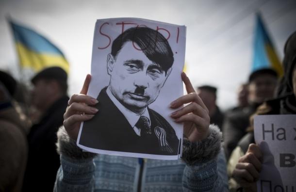 Песня о Путине оказалась переделанным маршем Гитлерюгенда
