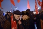 Фоторепортаж: «В Петербурге красочно отметили годовщину Октябрьской революции»