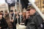 В центре Петербурга националисты митинговали «За славянское единство»: Фоторепортаж