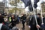 Фоторепортаж: «В центре Петербурга националисты митинговали «За славянское единство»»