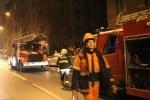 200 спасателей тушили пожар в центре Петербург: Фоторепортаж