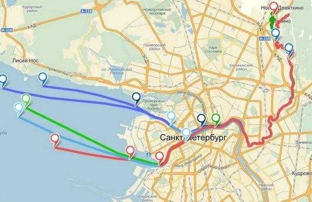 Брошенные в унитаз GPS-трекеры доплыли до Кронштадта
