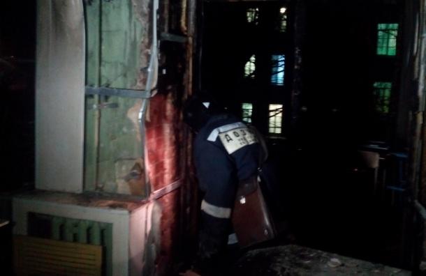 При пожаре в университете Мечникова эвакуировано 20 человек